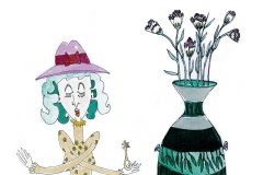 Key-and-vase
