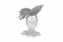 owl in flight_e